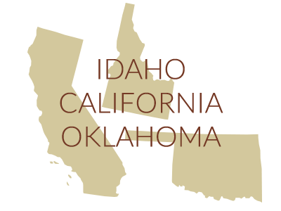 Projects - ID, CA and OK
